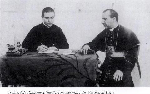 Segretario del Vescovo di Lecce Mons.Trama
