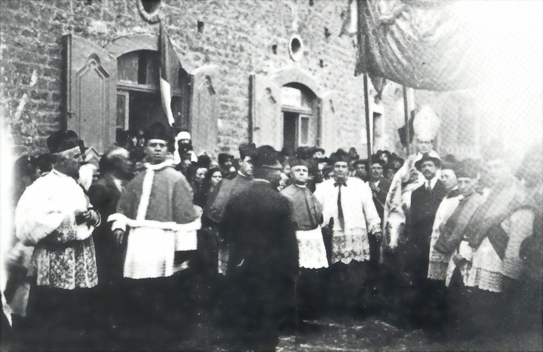 Ingresso a Tricarico 08.09.1922